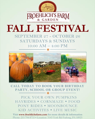 Froehlich's Fall Festival