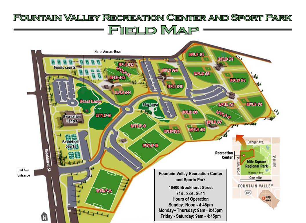Softball Fields - Maps & Directions