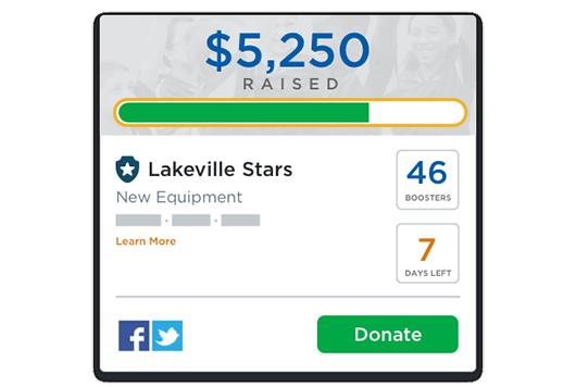 Make fundraising effortless