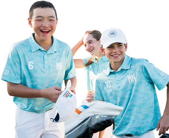 PGA Jr. League Kids playing golf